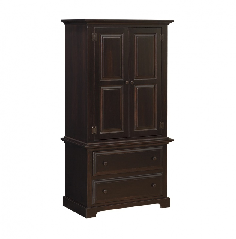 Amish Armoire on Chest for Sale
