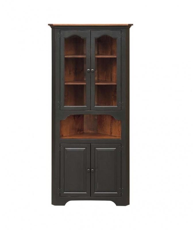 large corner cabinet wood large corner cabinet carriage house furnishings