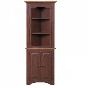 Amish Made Walnut Cabinet for Sale