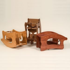 Amish Wooden Children Rocking Horse
