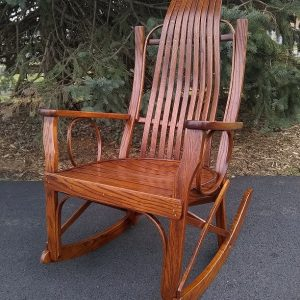 Amish Made Oak Rocking Chair