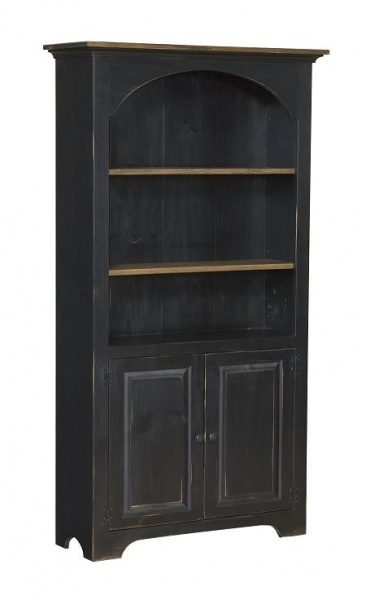 large bookcase with doors carriage house furnishings