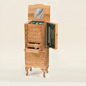 Amish Jewelry Armoire Chest in Lancaster PA Carriage House