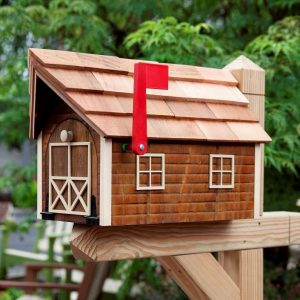 Handcrafted Wood Mailboxes from Amish in Lancaster PA