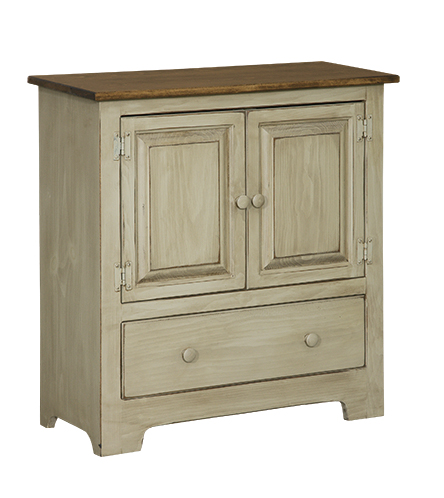 Double Hall Cabinet with Doors Closed
