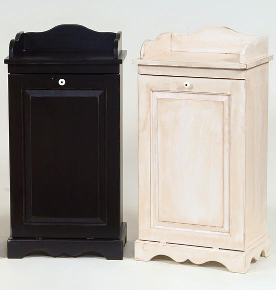 Trash Cabinet with rail
