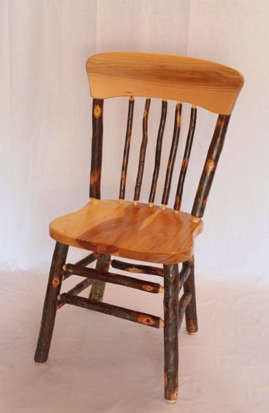 Amish Hickory Kitchen Chair for Sale