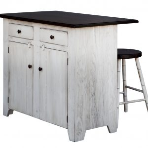 Amish Kitchen Island with Maple top