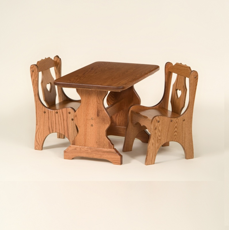 Amish Made Children's Table and Chairs