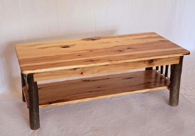 Etonnant Hickory Coffee Table
