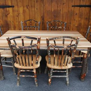 42 x 72 Hickory Dining Table