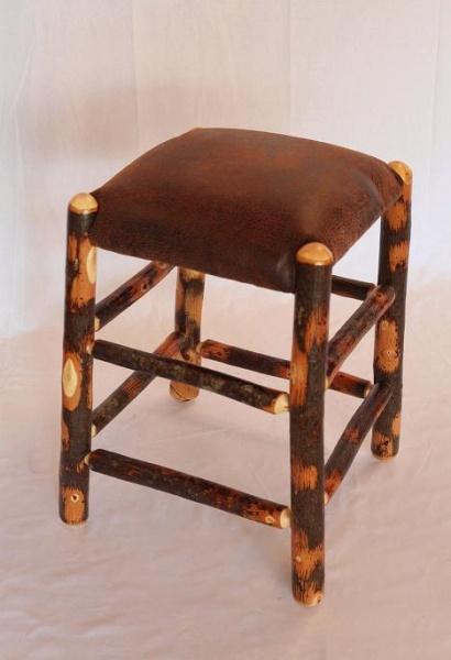 Amish Hickory Barstool