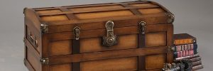 Declutter Your Child's Playroom with a Rustic Storage Chest