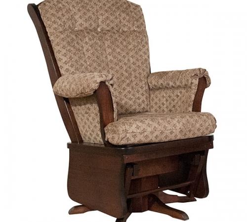 Maple Swivel upholstered Glider