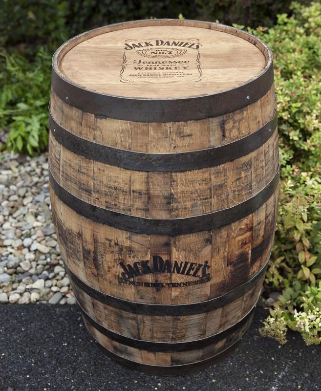 Rustic Jack Daniels Barrel