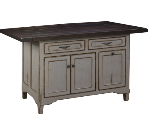 Amish kitchen islands made in pa amish made rocking for Amish kitchen cabinets pa
