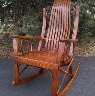 Rocker at Carriage House Furnishings