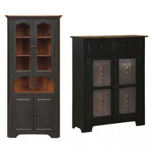 Corner Cabinets & Pie Safes